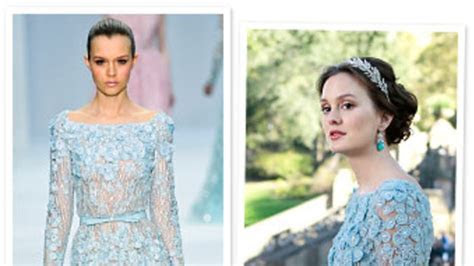 Gossip Girl: Blair Waldorf's Wedding Dress by Elie Saab