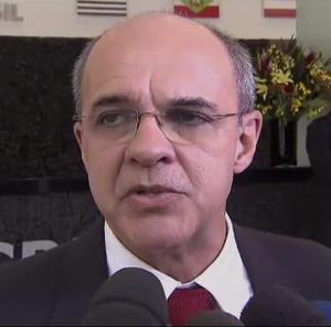 Eduardo Bandeira de Mello, presidente do Flamengo (Foto: Reprodução/SporTV)