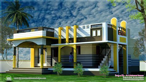 small modern house  kerala