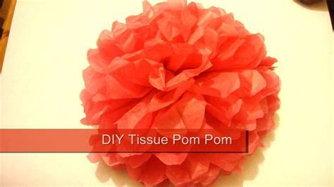 Tissue Pom Pom / How To Make Paper Pom Poms / Wedding