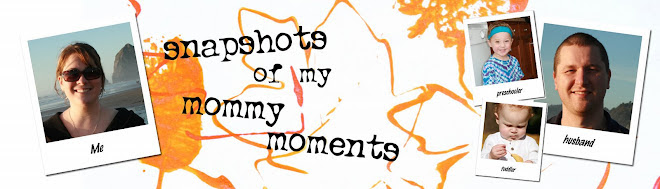 snapshots of my mommy moments