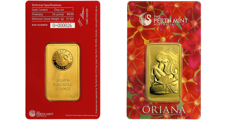 Perth Mint, APMEX partner to launch Oriana gold bar, again