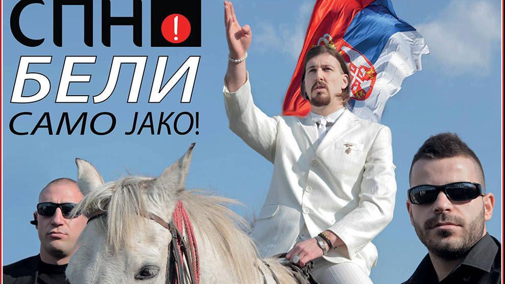 Beli, el candidato que es una sátira de los políticos y podría decidir las elecciones en Serbia