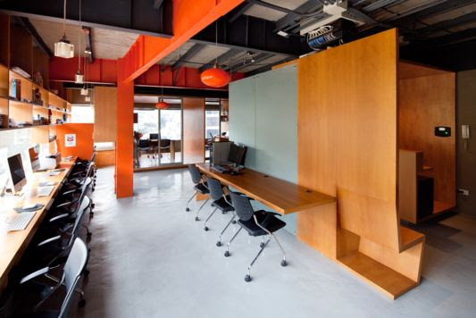 Ideas Interior Office Partitions With Wood By Arquitectura X Home