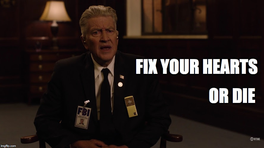 No Spoilers Reminder A Message From Gordon Cole Twinpeaks