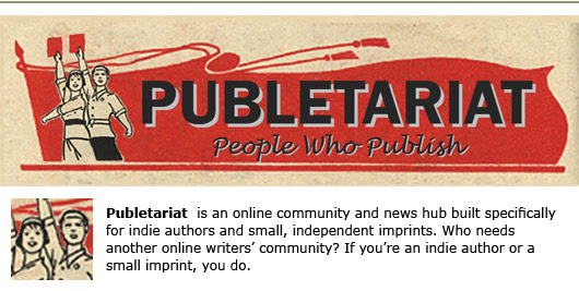 publetariat april hamilton self-publishing indie author
