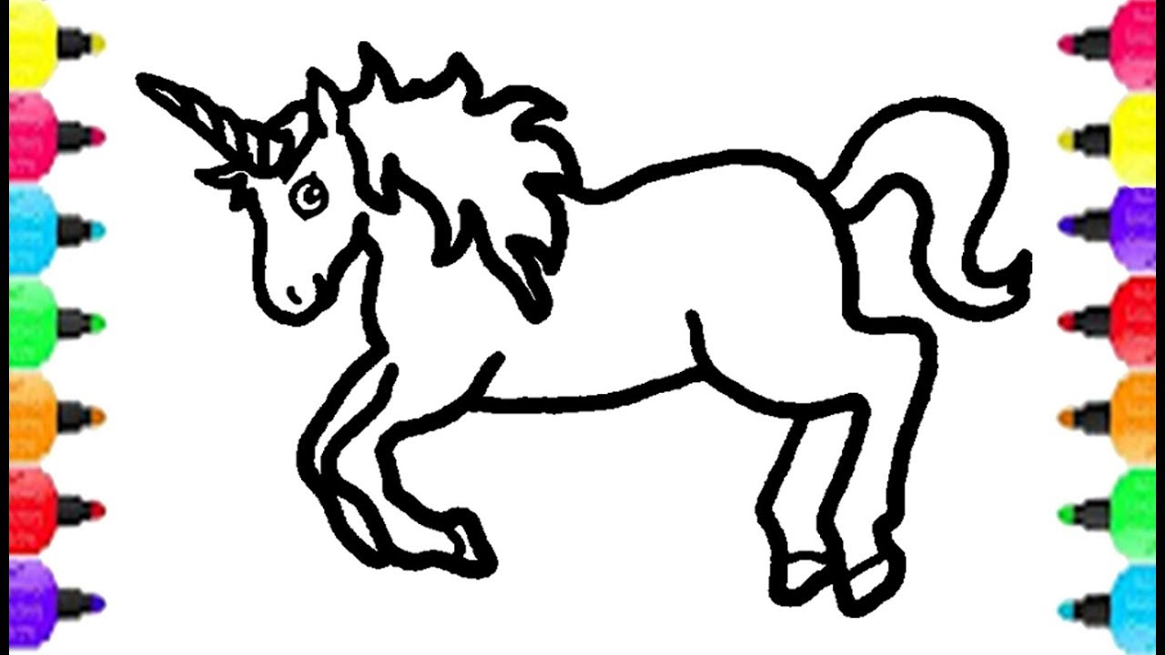 830 Top Unicorn Coloring Pages For 9 Year Olds  Images