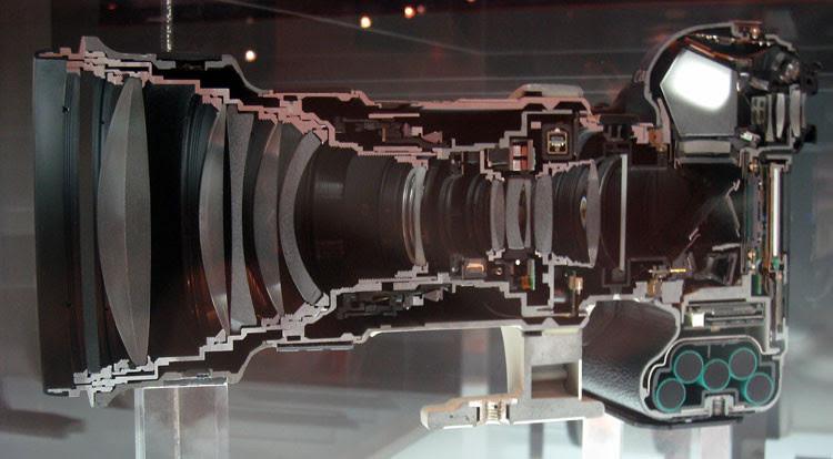 15. Цифровая камера вещь, разрез