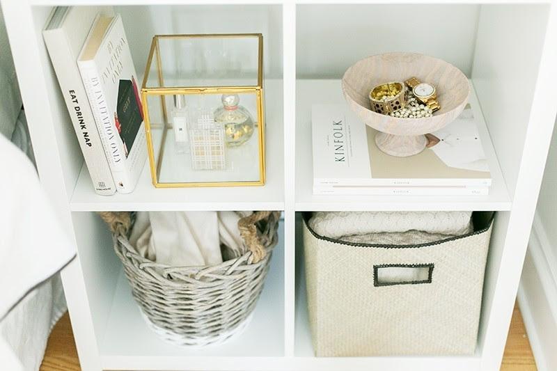 everygirl-ikea-expedit-shelf-nightstand-styling-2.