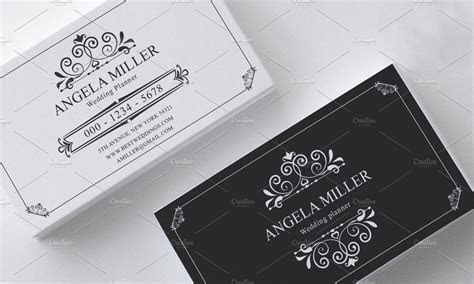 Elegant vintage business card ~ Business Card Templates