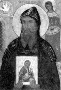 Saint Alypios, moine iconographe (11ème s.)