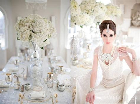 Gold, Silver and Sparkling Champagne Indian Wedding Ideas
