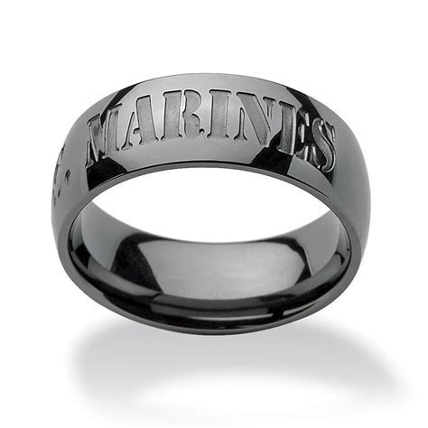 MARINE CORPS USMC BAND STAINLESS STEEL RING ALL SIZES FREE
