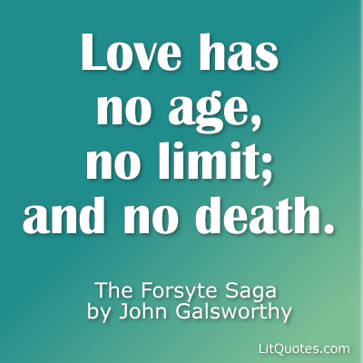 Love Has No Limit Quote Litquotes Blog