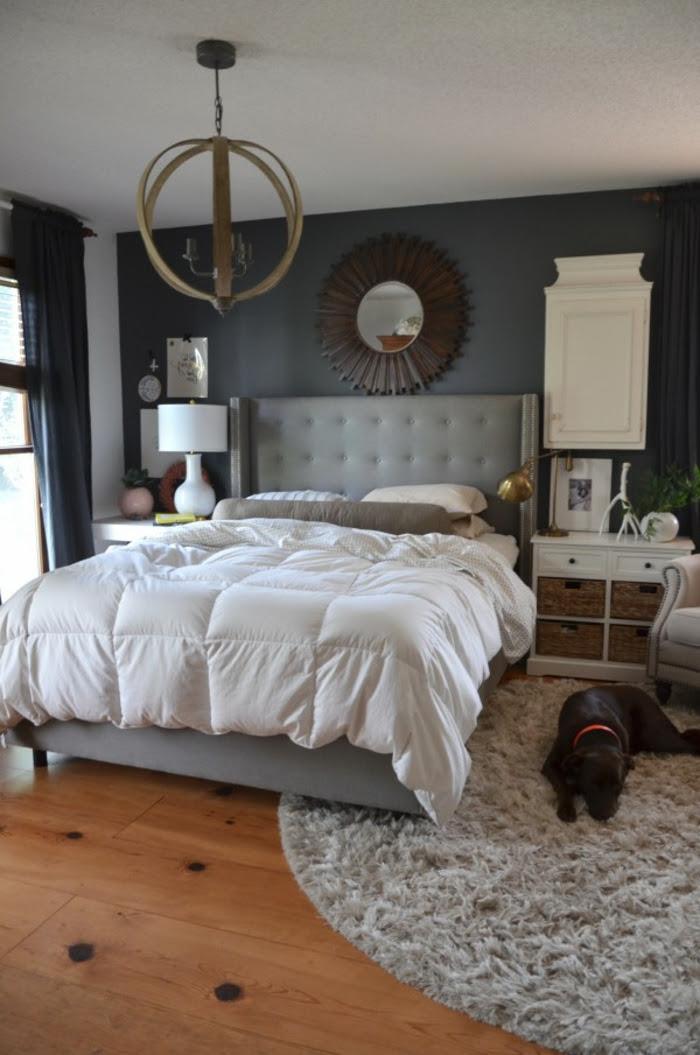 Schlafzimmer Grau - 88 Schlafzimmer mit deutlicher Präsenz ...