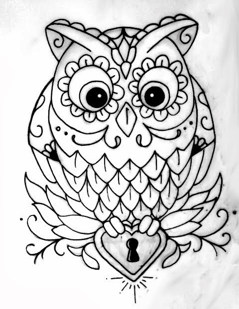 Free Owl Outline, Download Free Clip Art, Free Clip Art on ...