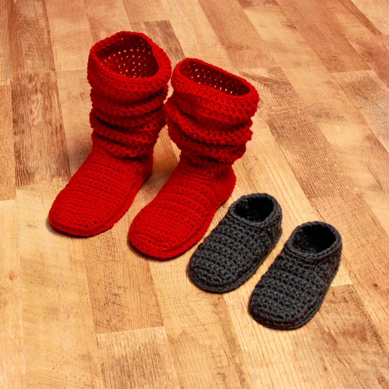 CROCHET PATTERN: Mamachee Boots (Adult Women Sizes) Cable instructions included.
