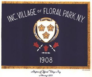 Flag of Floral Park, New York