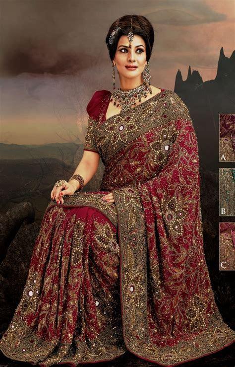 Indian Wedding Dresses   Magenta Indian wedding dresses