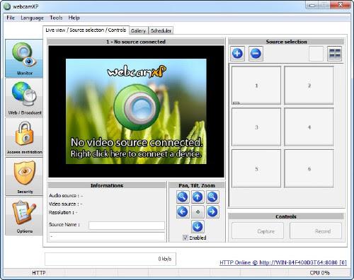 webcamXP PRO 5.6.1.2 Build 35745 Multilingual