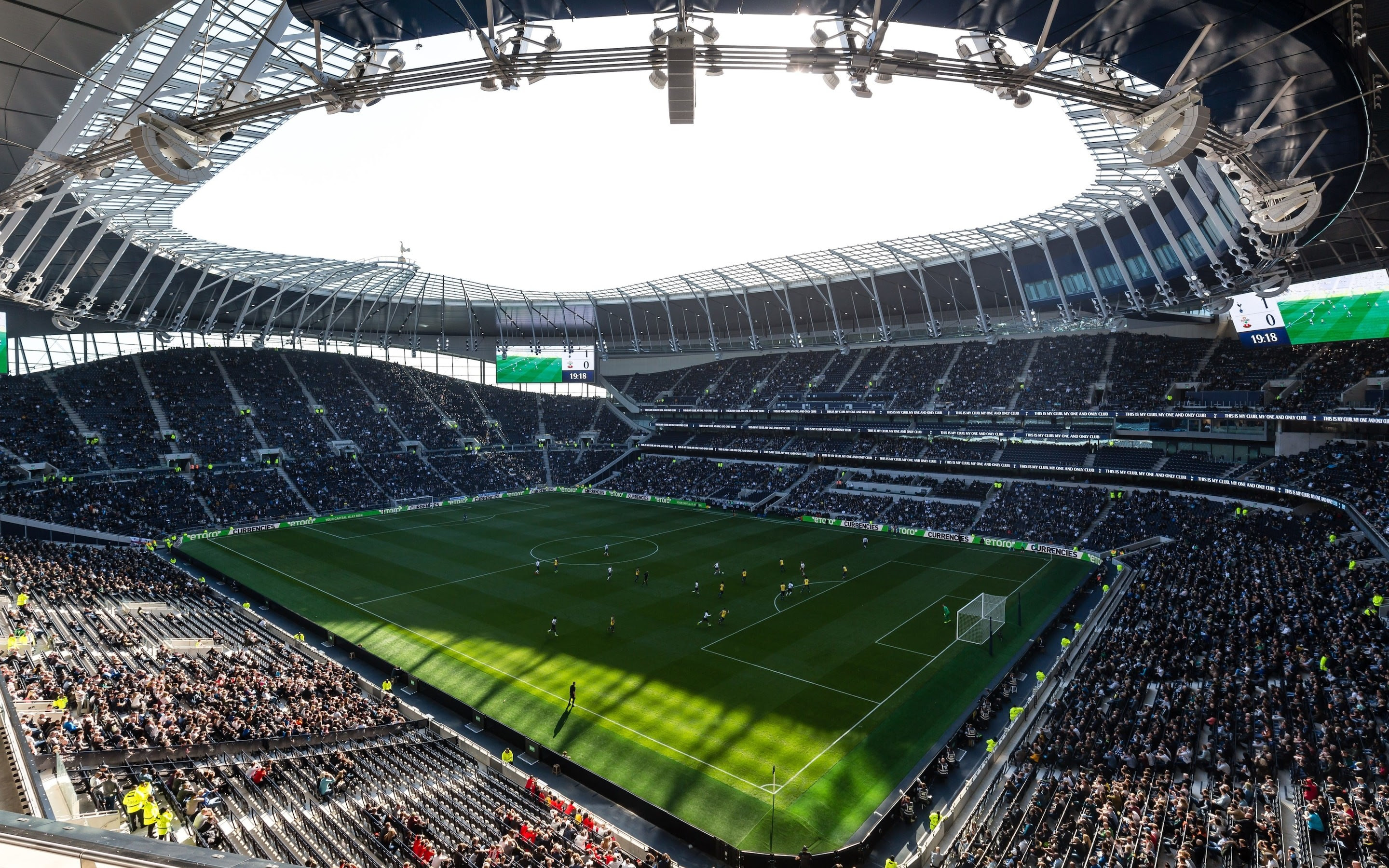 Tottenham Hotspur Stadium Wallpaper Hd Football