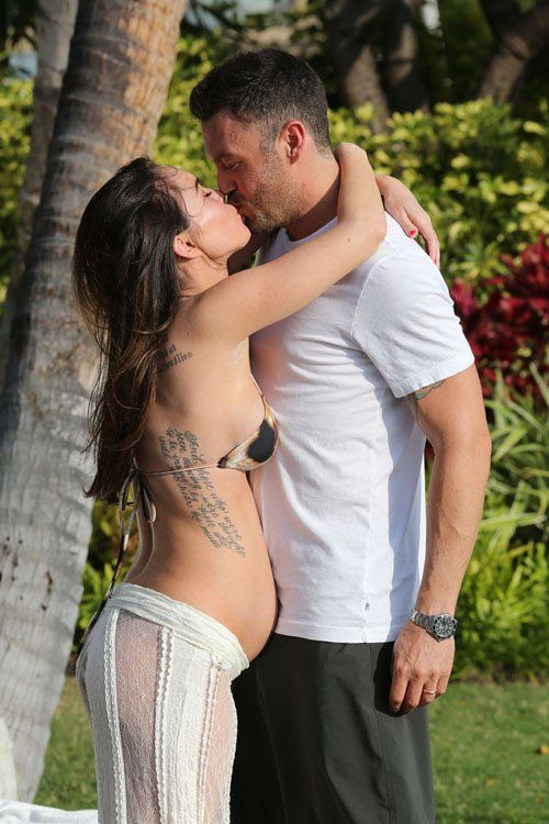 Hawaiian vacation - June 24, 2012, Megan Fox, Brian Austin Green