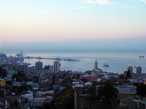View of Valparaiso from the top of La Sebastiana 2