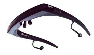 An eyewear with a built-in video viewing system