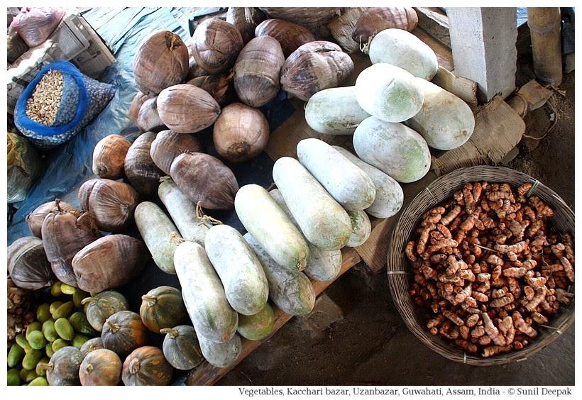 Vegetables, Kachari bazar, Guwahati, Assam, India