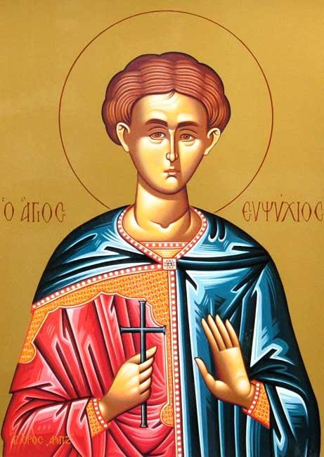 IMG ST. EUPSYCHIUS, of Caesarea, in Cappadocia