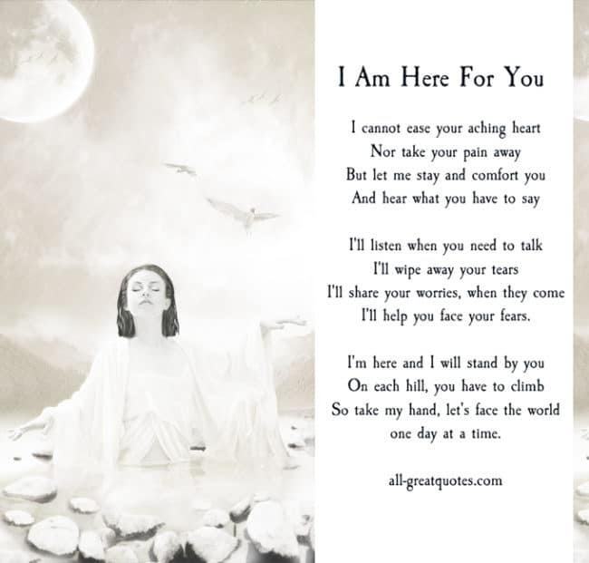 I Ll Always Be Here For You Quotes Home And Moven