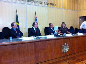 Promotores criticam ação na Cracolândia (Foto: Marcelo Mora/G1)