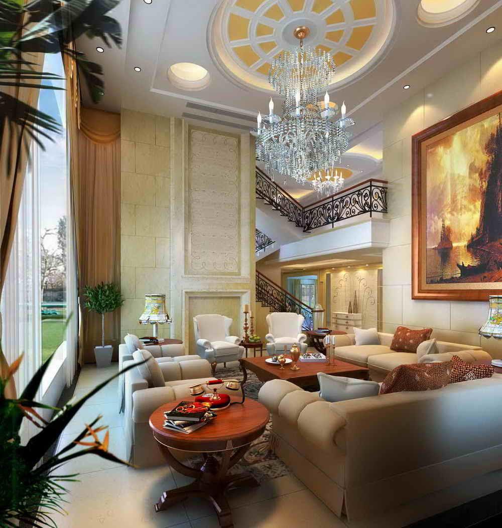 Villa Interior Design (DS-101) - China Villar Design, Interior Design