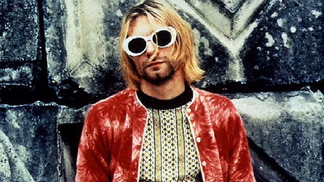 Image result for Kurt Cobain flannel cover magazine