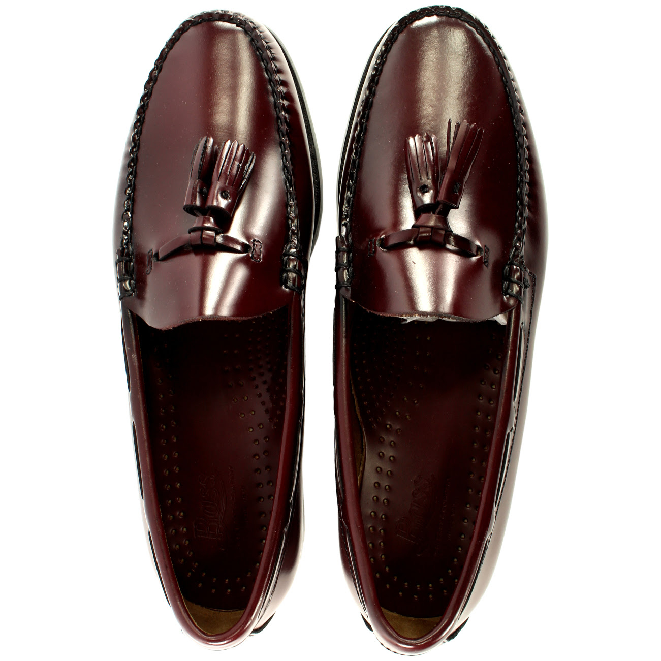 Mens G.H. Bass Larkin Slip On Tassel Smart Penny Loafer ...