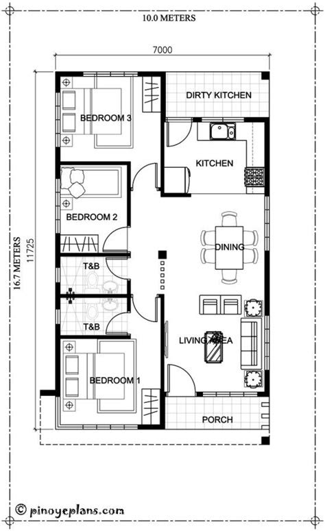 bedroom house design   total floor area