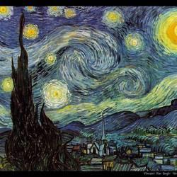 Notte stellata (Van Gogh, 1889)