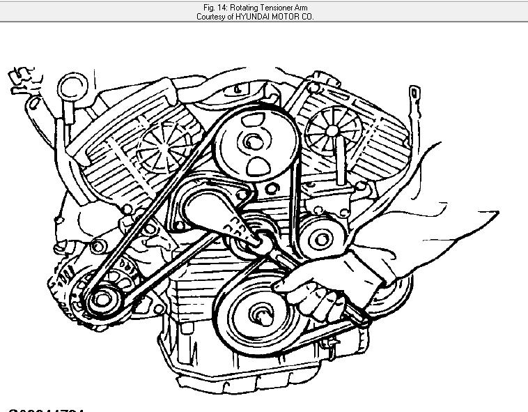 30 2005 hyundai elantra belt diagram