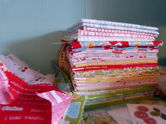 Show me your quilt fabric stash--Lori Holt Bake Sale