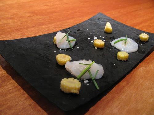 Vieira sashimi