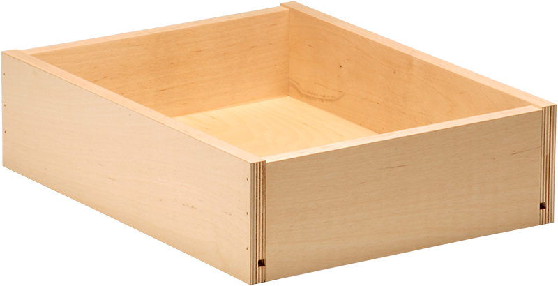 Baltic Birch Plywood Drawer Boxes Nailed Construction
