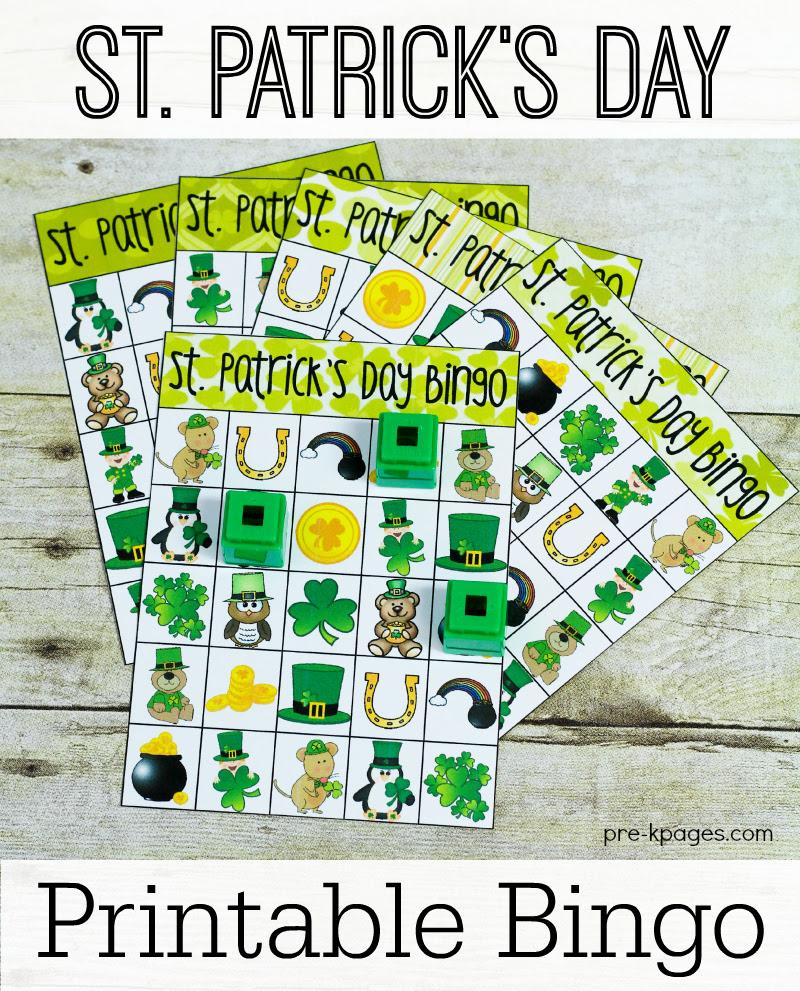 Printable St. Patrick