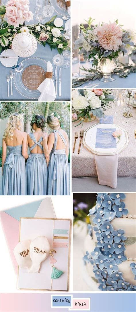 Top 5 perfect shades of blue wedding color ideas for 2017