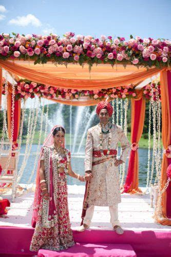Orange, The flowers and Indian weddings on Pinterest