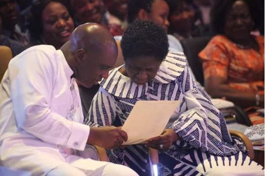 Popular Port Harcourt Pastor, David Ibiyeomie Receives 55 Exotic Cakes on 55th Birthday (Photos)