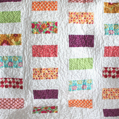 Colorful Coins Baby Quilt Pattern
