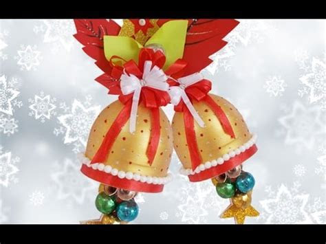 Christmas Decorations from Wasted Plastic Bottle: DIY