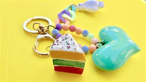 DIY Squishy Cake Keychain Tutorial   Consumer Crafts