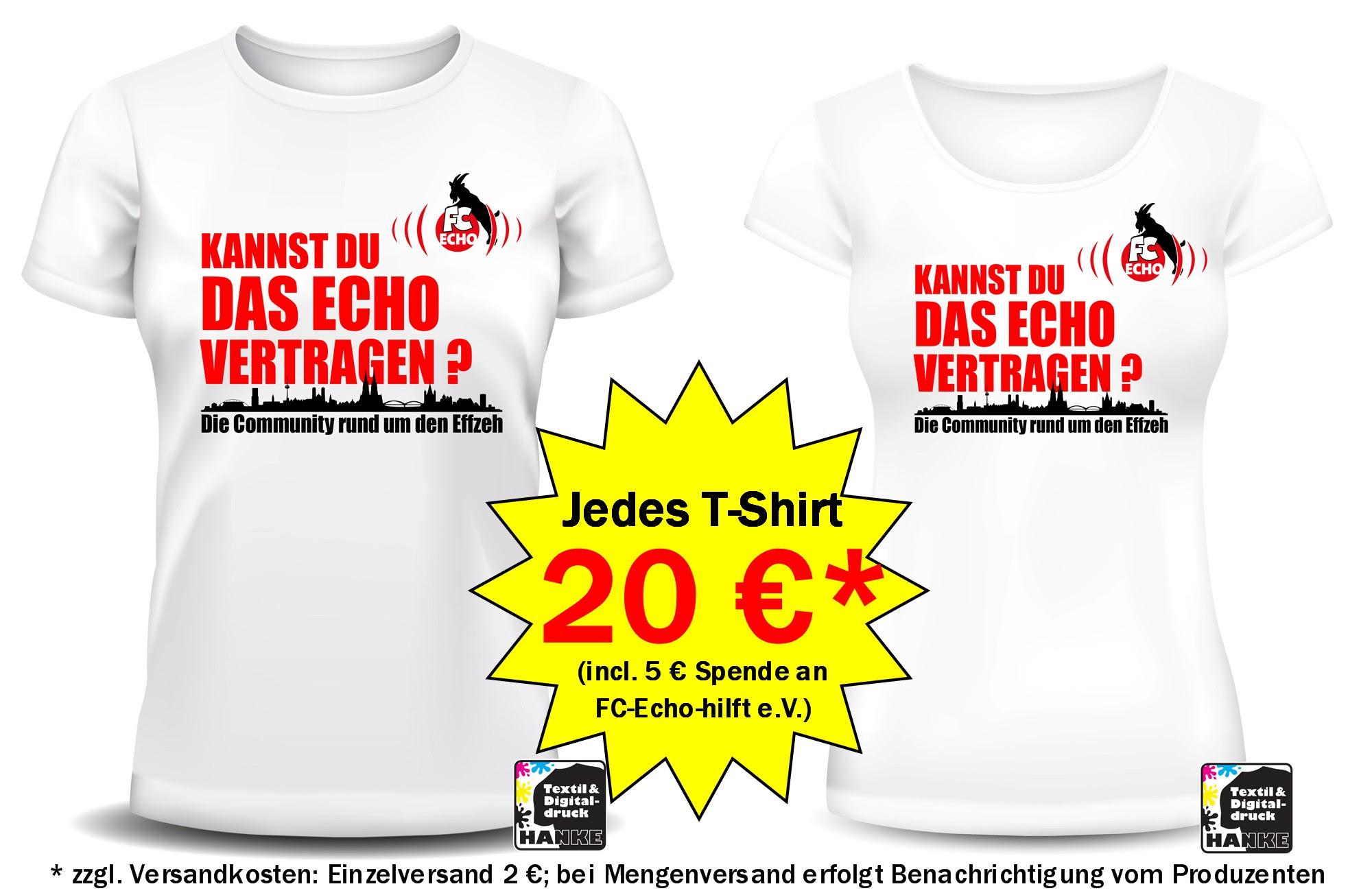 Fc Echo Gruppen T Shirts Fc Echo Hilft E V