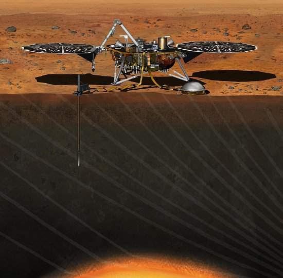NASA começa a construir sonda que estudará profundezas de Marte